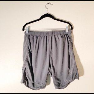 La Sportiv Grey Suddon Shorts Size L